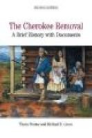 The Cherokee Removal - A Brief History with Documents (Paperback, 2nd): Theda Perdue, Michael D Green