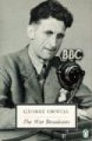 The War Broadcasts (Paperback, New ed): George Orwell