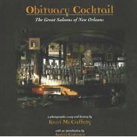Obituary Cocktail - The Great Saloons of New Orleans (Paperback, New ed): Kerri McCafferty