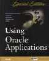 Using Oracle Applications - Special Edition (Paperback): BOSS Corporation