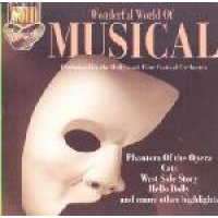 Hollywood Film Festival Orchestra / Mantovani Orchestra - Wonderful World Of Musicals (CD): Hollywood Film Festival Orchestra,...