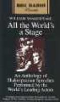 All the World's a Stage - BBC (Abridged, Audio cassette, Abridged edition): William Shakespeare