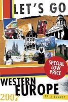 Let's Go Western Europe - On a Budget (Paperback, Revised edition): Let's Go Inc