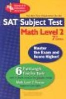 SAT Subject Test Math Level 2 (Paperback, 7th): Staff of Research & Education Association