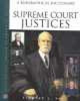 Supreme Court Justices - A Biographical Dictionary (Hardcover): Timothy L Hall