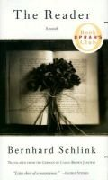 The Reader (Hardcover): Bernhard Schlink