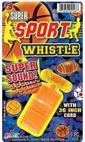 Ja-Ru Super Sports Whistle with 36? Cord: