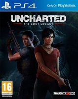 Uncharted: The Lost Legacy (PlayStation 4, Blu-ray disc):