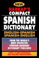 Harrap's Compact Spanish Dictionary: English/Spanish Spanish/English (Hardcover, 1st U.S. Ed): Harraps