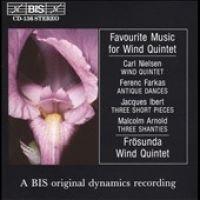 Favorite Music for Wind Quintet (CD): Favorite Music for Wind Quinte, Frosunda Wind Quintet