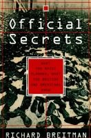 Official Secrets - What the Nazis Planned, What the Brits and Americans Knew (Hardcover): Richard Breitman