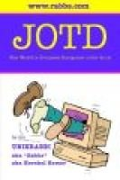 Jotd the World's Greatest Computer Joke Book (Paperback): Hershel Remer