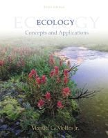 Ecology - Concepts and Applications (Hardcover, 3rd Revised edition): Manuel C Molles