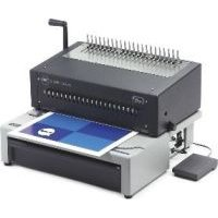GBC CombBind C800 Pro Combined Punch and Binding System with Foot Pedal: