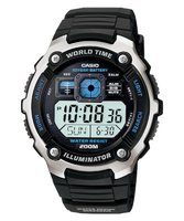Casio AE-2000W-1AV Watch with 10-Year Battery: