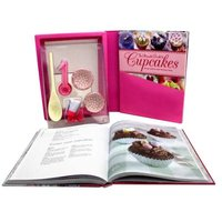 The Ultimate Guide To Cupcakes - 2 Books & Accessories (Paperback):