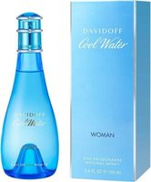 Davidoff Cool Water Woman Deodorant Natural (100ml) - Parallel Import: