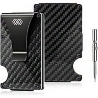 WEAV Carbon Fiber Wallet (Black):