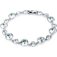 Dhia Jewellery Bracelet with Swarovski Crystals (White):