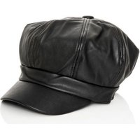 Quiz Women Baker Boy Hat (Black):