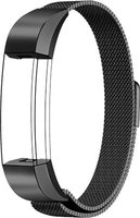 Linxure Milanese Strap for the Fitbit Alta Black - Large: