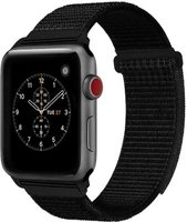 Linxure Apple Nylon Watch Band Black 38mm: