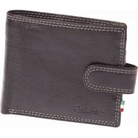 Paolo Rossi Genuine Leather Jaguar Range Wallet (Black):