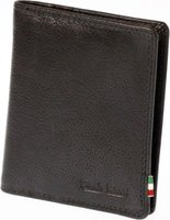 Paolo Rossi Genuine Leather Author Range Wallet (Black):