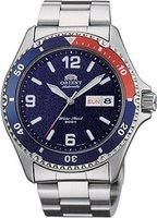 Orient Mako II Automatic Blue Dial Pepsi Bezel Men Watch: