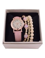 Digitime Women's Watch and Jewellery Set: