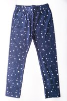 Star Printed Leggings (Navy and White):