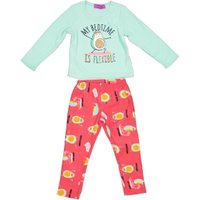 Girls PJ Set ( Blue):