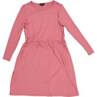 Plus size Long Sleeve Fit and Flare Dress (Rose):