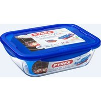 Pyrex Cook & Go Rectangular Roaster with Lock-lid (Large) (30 x 22cm):