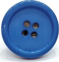 Pylones Blue Button Ring: