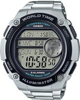 Casio Standard Digital Wrist Watch (Silver):