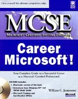 Career Microsoft! (Book): William C. Jeansonne