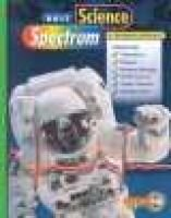 Holt Science Spectrum: Balanced Approach - Student Edition 2001 (Hardcover, Student): Holt Rinehart & Winston