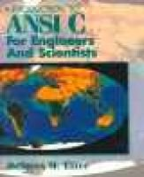 Introduction to ANSI C for Engineers and Scientists (Paperback, US ed): D.M. Etter