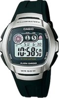 Casio W-210-1AV Watch with 10-Year Battery: