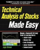 Technical Analysis of Stocks Made Easy - Minimize Your Risk and Maximize Your Returns (Hardcover):