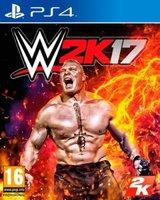 WWE 2K17 (PlayStation 4, Blu-ray disc):