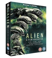 Alien: 6-Film Collection - Alien / Aliens / Alien 3 / Alien: Resurrection / Prometheus / Alien: Covenant (Blu-ray disc, Boxed...