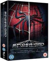 Spider-Man: 5-Movie Collection - Spider-Man 1-3 / The Amazing Spider-Man 1 & 2 (DVD, Boxed set): Tobey Maguire, Kirsten Dunst,...