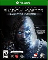 Middle-Earth: Shadow of Mordor - Game of the Year Edition (XBox One, Blu-ray disc):