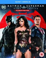 Batman v Superman - Dawn Of Justice (Ultimate Edition) (Blu-ray disc): Ben Affleck, Henry Cavill, Amy Adams, Gal Gadot, Jesse...