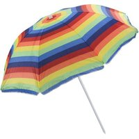 Seagull Beach Umbrella (180 cm) (Multicolour):