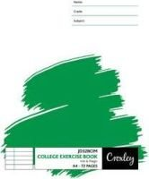 Croxley JD328CIM A4 Exercise Books (72 Pages)(10-Pack):
