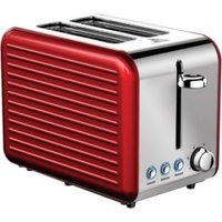 Ultimum Stainless Steel Toaster (Red):