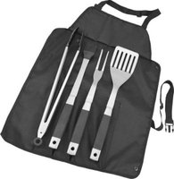 Alva Roll Up BBQ Tool Set:
